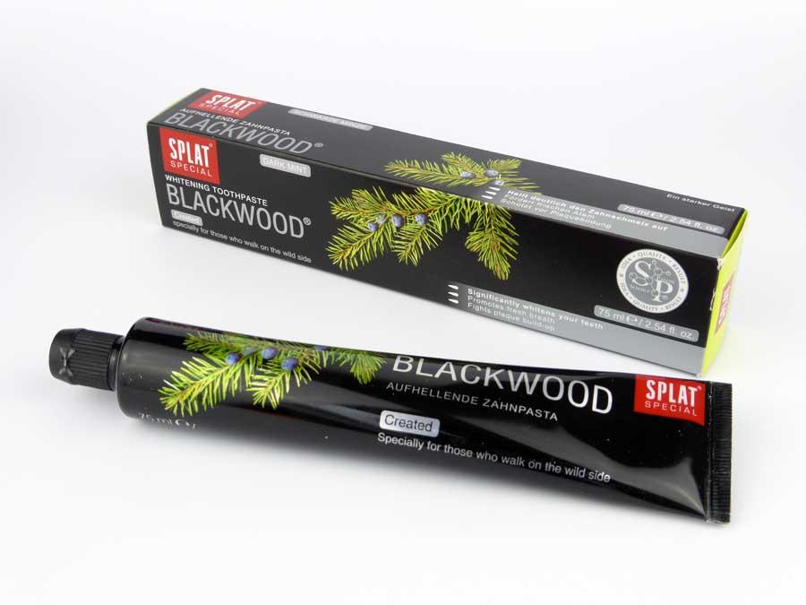 Splat Blackwood Zahncreme Test Thumbnail