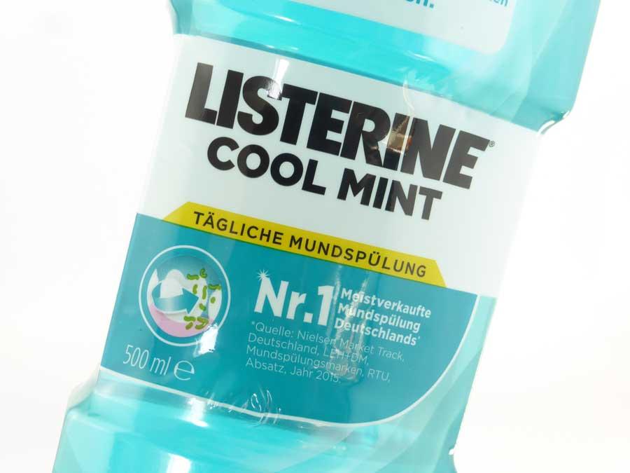 Listerine Mundwasser 02