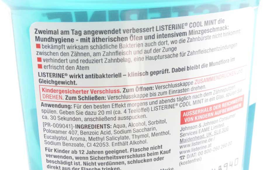 Listerine Mundwasser 04